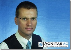 Martin Aschoff, Vorstand der AGNITAS AG und Geschaeftsfuehrer der AGNITAS-Tochter ADAMATIS GmbH