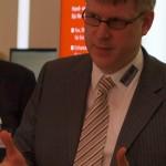 Ferrari electronic Geschäftsführer Stephan Leschke im Gespräch
