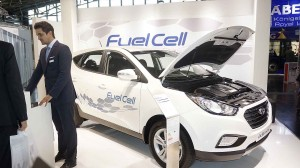 Hyundai mit der ersten Brennstoffzelle