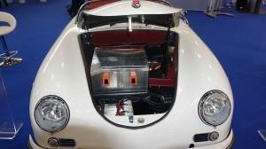 Porsche Speedster mit Elektroantrieb