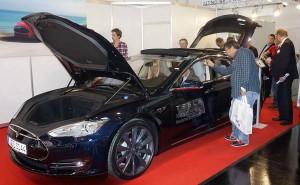 Tesla auf der eCarTec