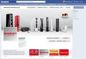 quadral Hifi Facebook Page