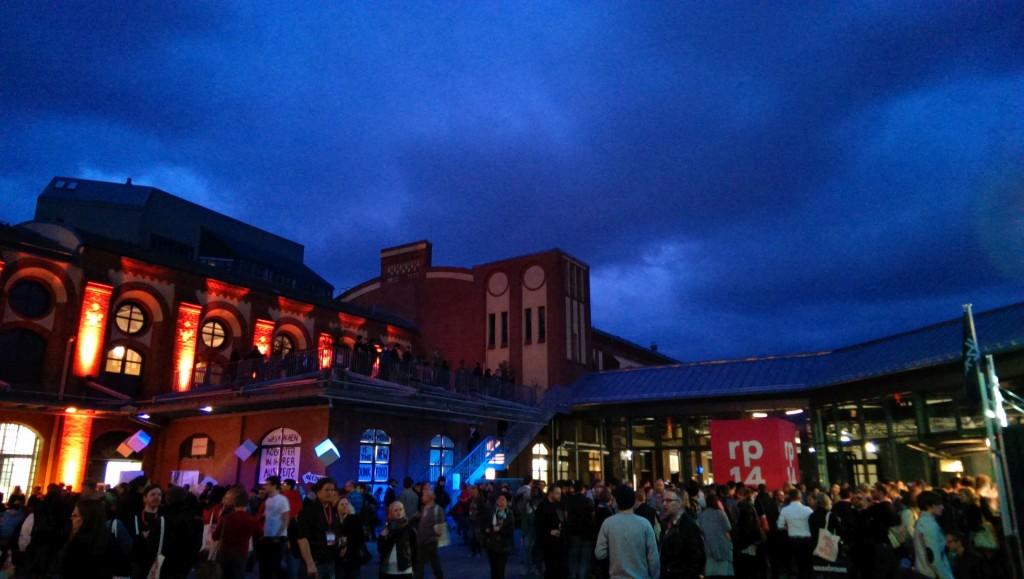 """Real Life: auf der re:publica wird auch """"in Echt"""" genetzwerkt"""