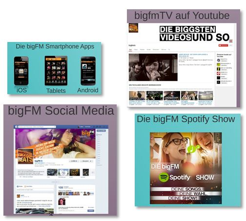 Die BIG FM Radio App