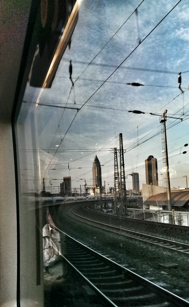 Durch Frankfurt nach Köln zur dmexco