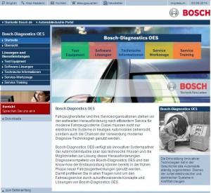Kein Sharing bei Bosch