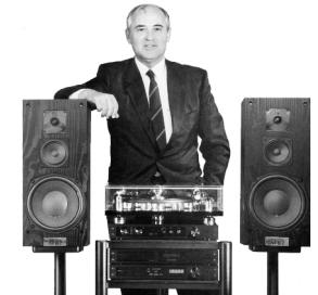 Gorbatschov mit RESTEK