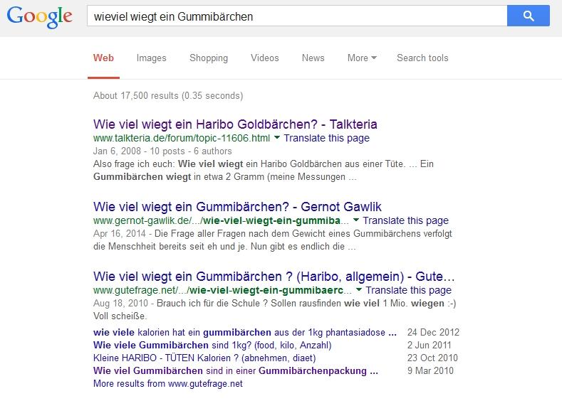 Google antwortet