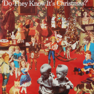 "Plattencover ""Do They Know It's Christmas?"""