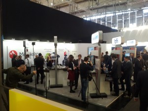 Filmen am Stand von Virtual Solution / SecurePIM