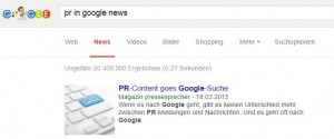 pr in google news