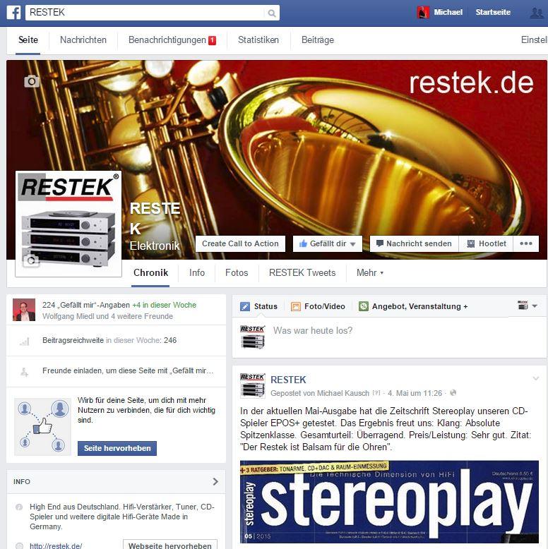 RESTEK Fanpage