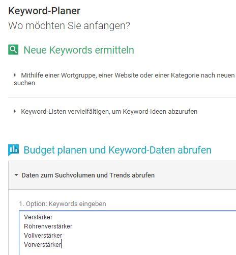 Keywordplanner 03