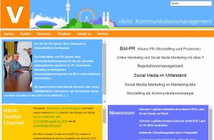 vibrio homepage