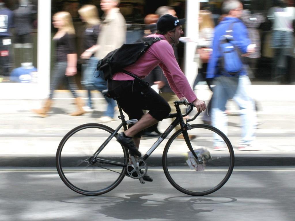 Das Rad - ideal für den Stadtverkehr