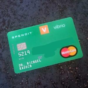 vibrio SPENDID Kreditkarte