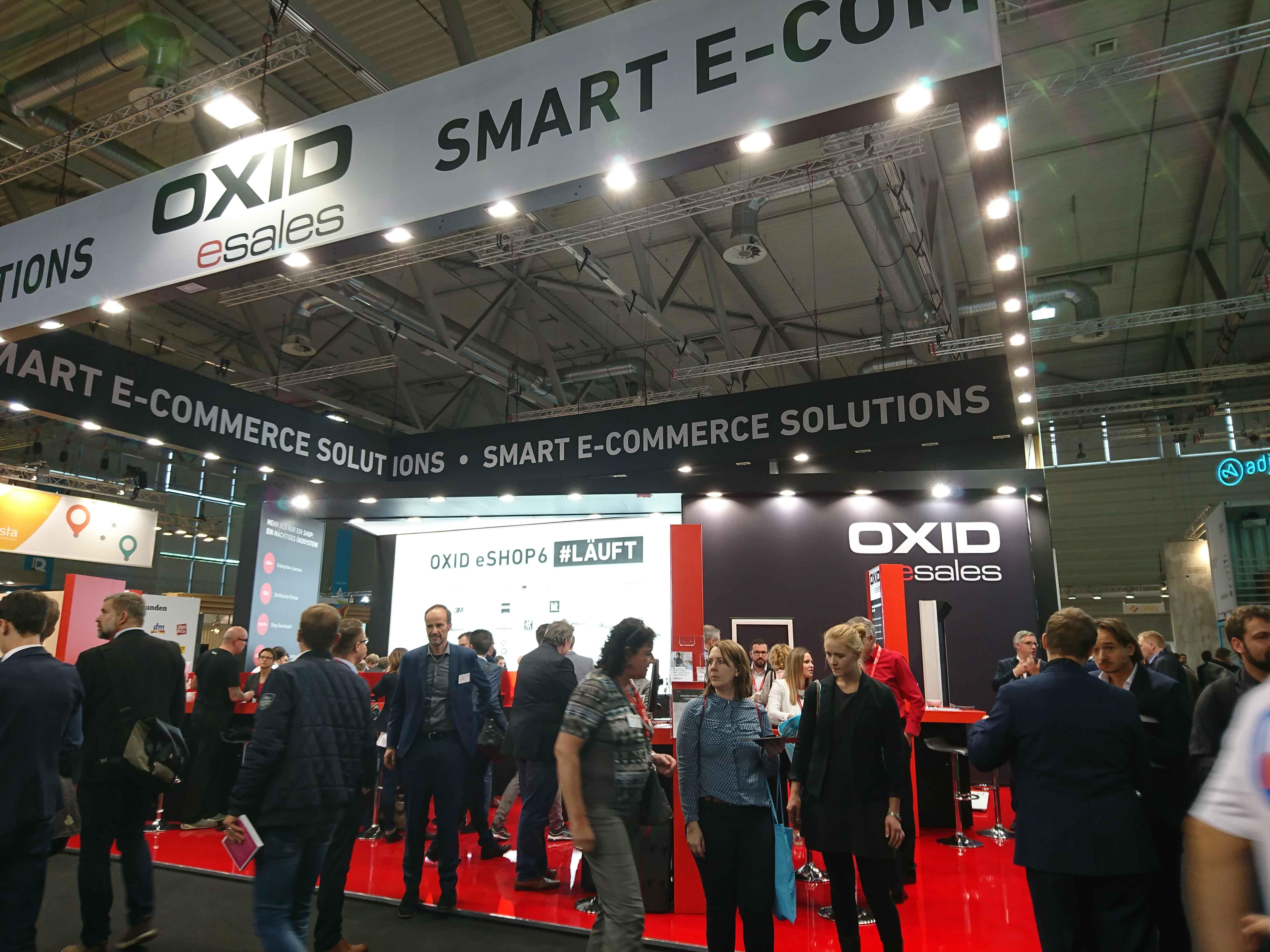 OXID esales auf der dmexco