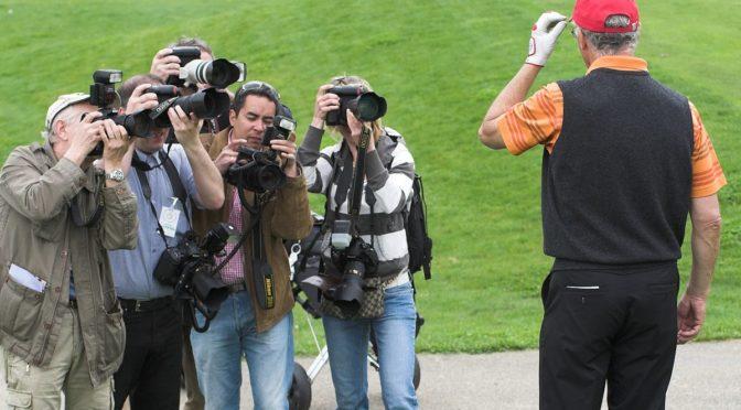 Pressefotos vom Kaiser