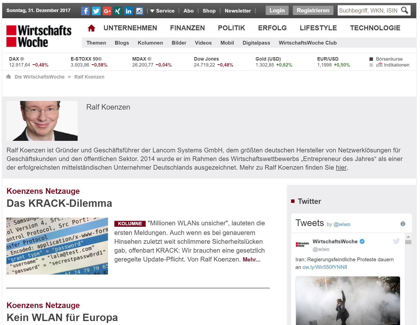 CEO Blog Netzauge