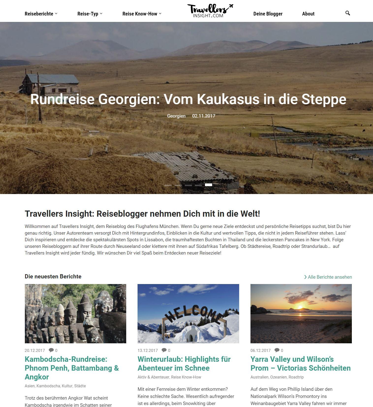 Corporate Blog Flughafen München
