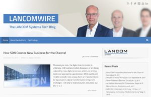 Ein LANCOM Blog