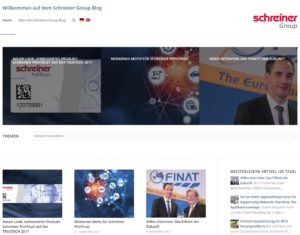 Das Corporate Blog der Schreiner Group