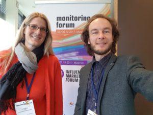 Kollegen auf dem Monitoring Forum 2017