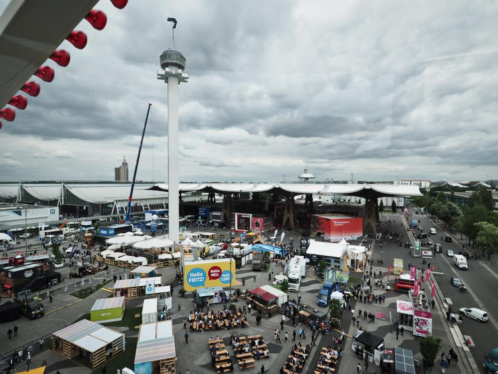 CEBIT 2018: Rummelplatz