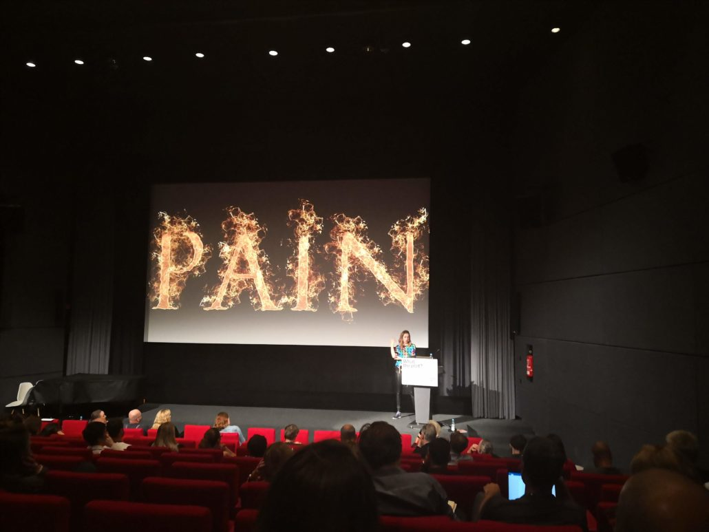 No Pain, no Gain - auch beim Storytelling.